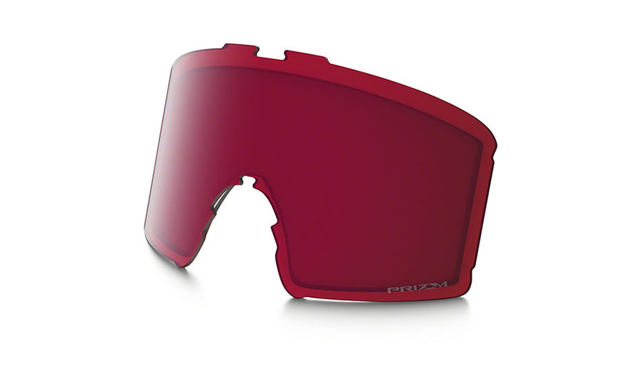 Oakley Line Miner Youth Ski Goggles Replacement Lens Kit - Prizm Rose