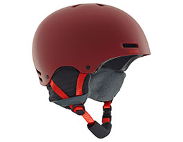 Anon Raider Ski Helmet - Red