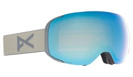 Anon M2 Ski Goggles - Gray / Perceive Variable Blue + Perceive Cloudy Pink