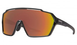 Smith Shift MAG Sunglasses - Black / ChromaPop Red Mirror + Clear