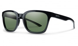Smith Founder Sunglasses - Black / ChromaPop Grey Green Polarised