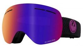 Dragon X1S Prescription Ski Goggles - Split / LumaLens Purple Ion + LumaLens Amber