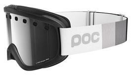 POC Iris Stripes Prescription Ski Goggles - Uranium Black / Bronze Silver Mirror