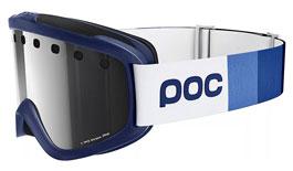 POC Iris Stripes Prescription Ski Goggles - Butylene Blue / Bronze Silver Mirror