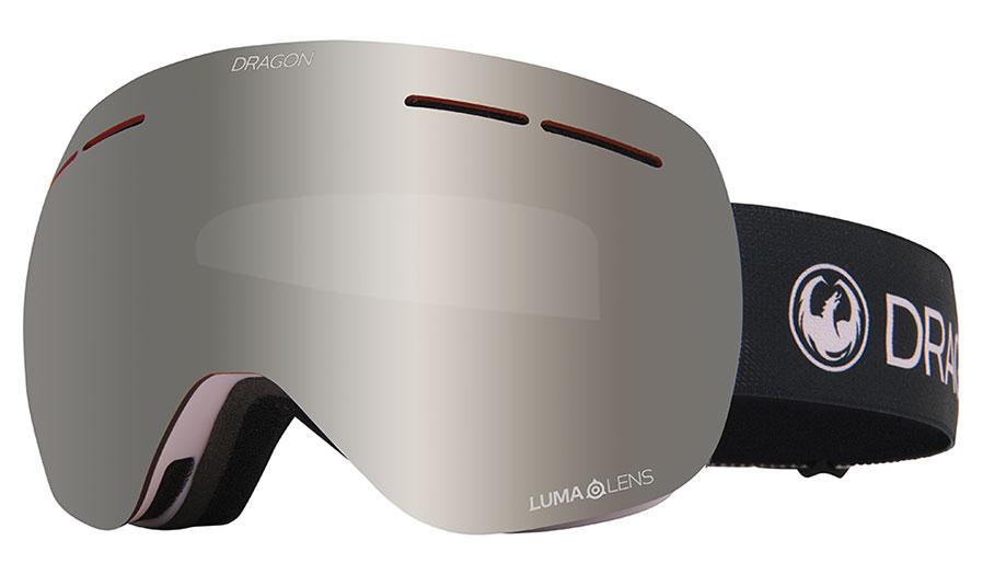 Dragon X1S Ski Goggles - Sakura / Lumalens Silver Ion + Lumalens Rose