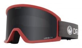 Dragon DX3 OTG Ski Goggles - Block Red / Lumalens Dark Smoke