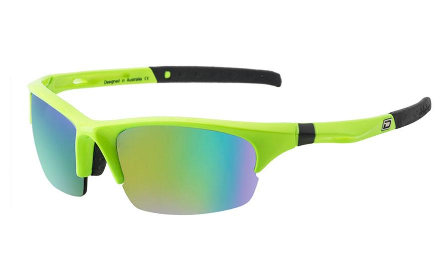a3272454b12 Dirty Dog Sport Ecco Sunglasses - Fluro Green   Green w Green Fusion ...