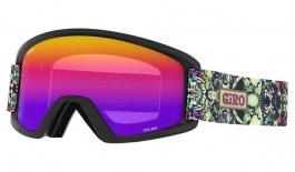Giro Dylan Prescription Ski Goggles - Kaleidoscope/ Amber Pink + Yellow