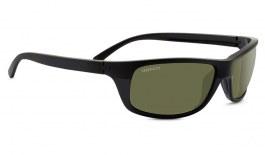 Serengeti Bormio Sunglasses - Satin Shiny Black / 555nm Polarised Photochromic