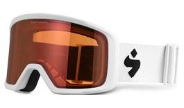 Sweet Firewall Ski Goggles - Satin White / Orange