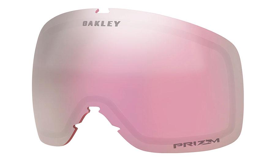 Oakley Flight Tracker XS Ski Goggles Replacement Lens Kit - Prizm HI Pink Iridium