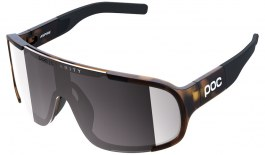 POC Aspire Sunglasses - Tortoise Brown / Clarity Road Violet with Silver Mirror