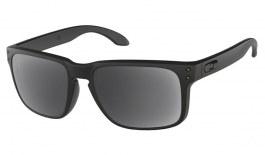 Oakley Holbrook Prescription Sunglasses - Matte Black (Gunmetal Icon)