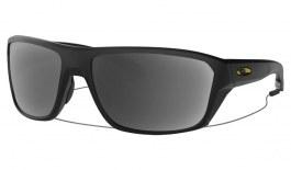 Oakley Split Shot Prescription Sunglasses - Matte Black (Gold Icon)