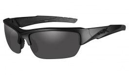Wiley X Valor Sunglasses - Black Ops Edition - Matte Black / Smoke Grey Polarised
