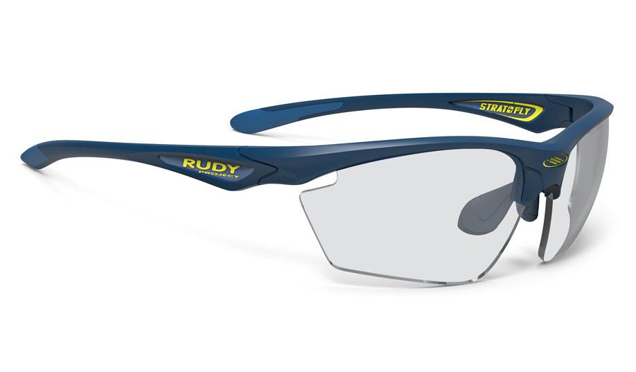 Rudy Project Stratofly Prescription Sunglasses - Directly Glazed - Matte Navy Blue