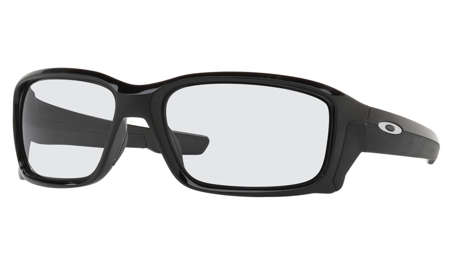 cd0fe08b64 Oakley Straightlink Prescription Sunglasses. Colour  Polished Black ( Polished Chrome Icon). SKU  OO9331-16-Rx