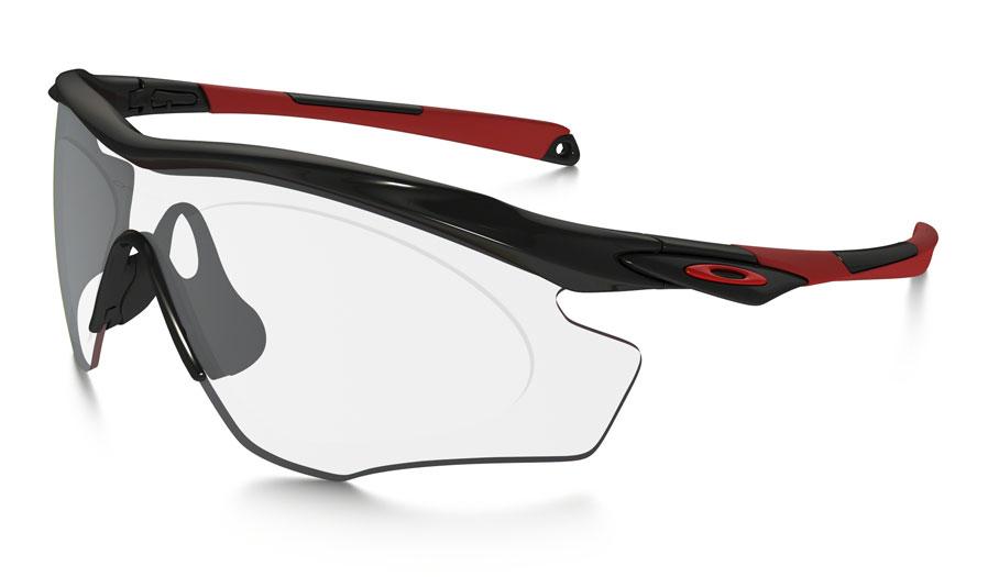 18bf160026 Oakley M2 Frame XL Prescription Sunglasses - Polished Black   Redline -  RxSport