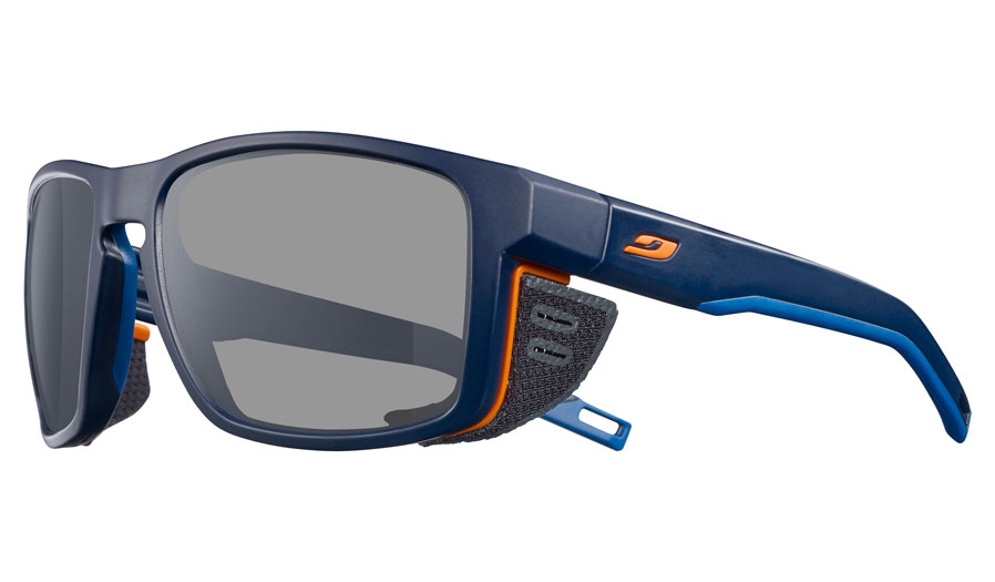 Julbo Shield Prescription Sunglasses - Matte Dark Blue & Orange