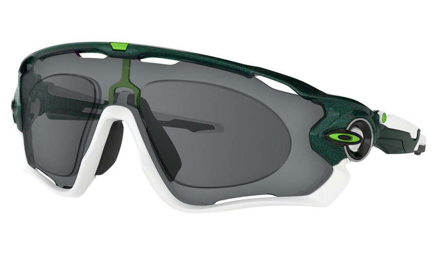 Oakley Jawbreaker Prescription Sunglasses - Cavendish Edition Metallic Green