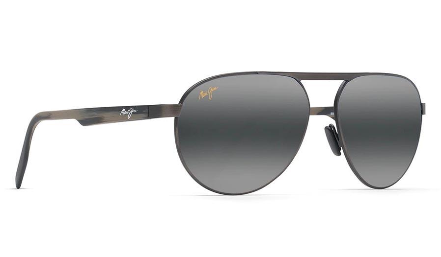 Maui Jim Swinging Bridges Prescription Sunglasses - Brushed Dark Gunmetal