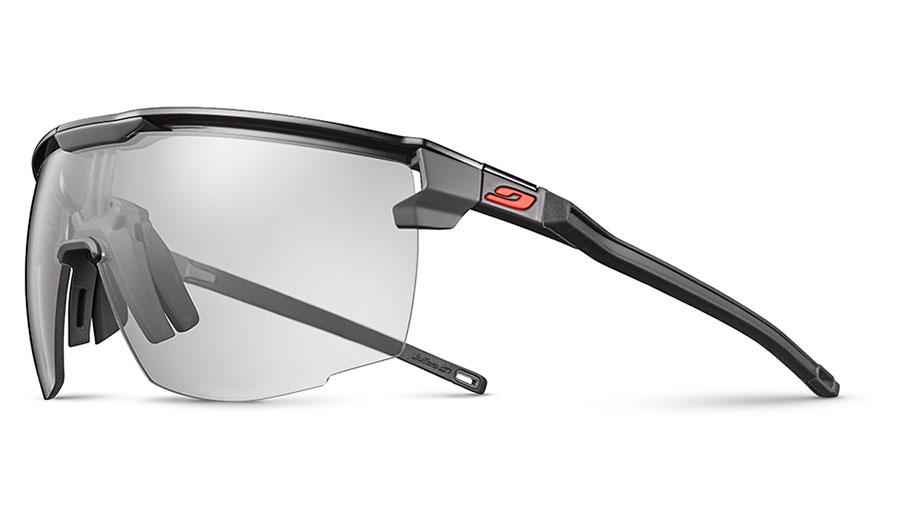 Julbo Ultimate Sunglasses - Black & Grey / Reactiv Performance 0-3 Photochromic