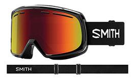 Smith Optics Range Prescription Ski Goggles - Black / Red Sol-X Mirror
