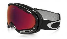 Oakley A Frame 2.0 Ski Goggles - Jet Black / Prizm Torch Iridium