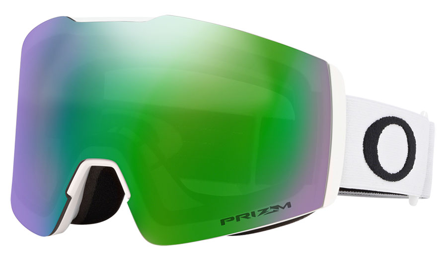 Oakley Fall Line XM Ski Goggles - Matte White / Prizm Jade Iridium
