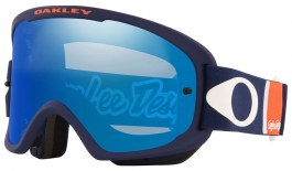 Oakley O Frame 2.0 Pro MTB Prescription Goggles - Troy Lee Designs Edition Patriot Rwb / Black Ice Iridium