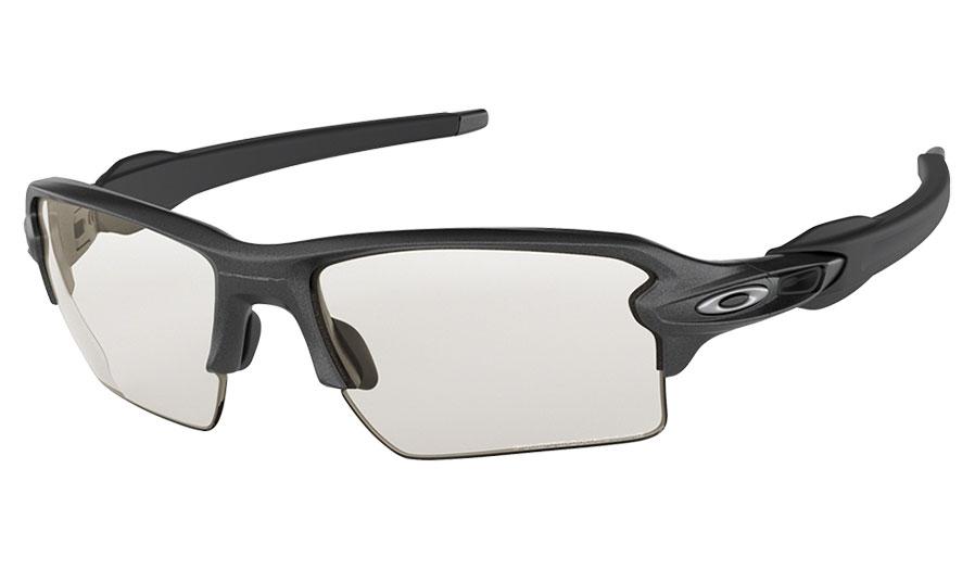 0972d24aaa542 1. 2. 3. 4. PrevNext. Oakley Flak 2.0 XL Sunglasses - Steel   Clear Black  Iridium Photochromic