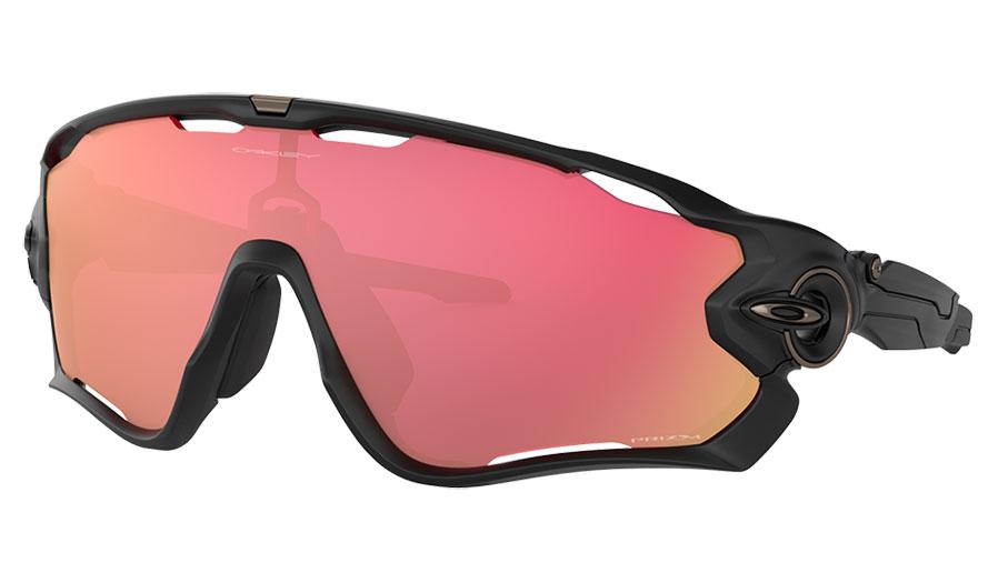 Oakley Jawbreaker Sunglasses - Matte Black / Prizm Snow Torch