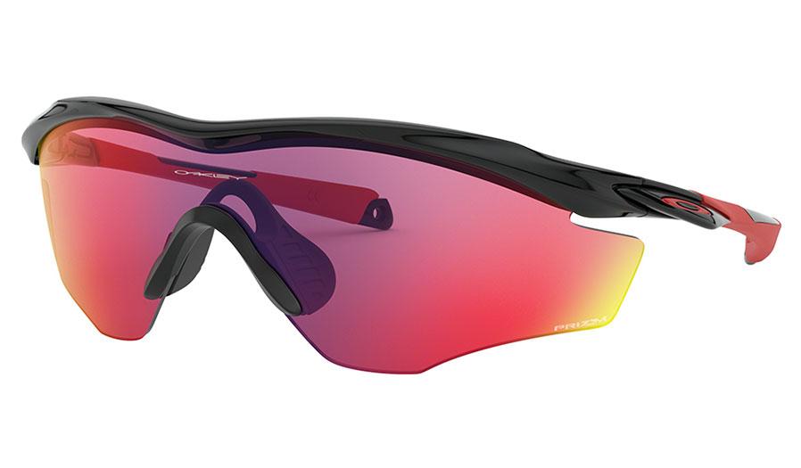 Oakley M2 Frame XL Sunglasses - Polished Black / Prizm Road