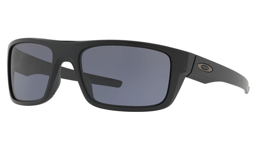 Oakley Drop Point Sunglasses - Matte Black / Grey