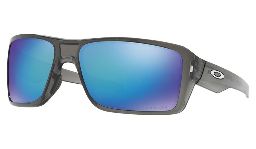 Oakley Double Edge Sunglasses Grey Smoke Prizm