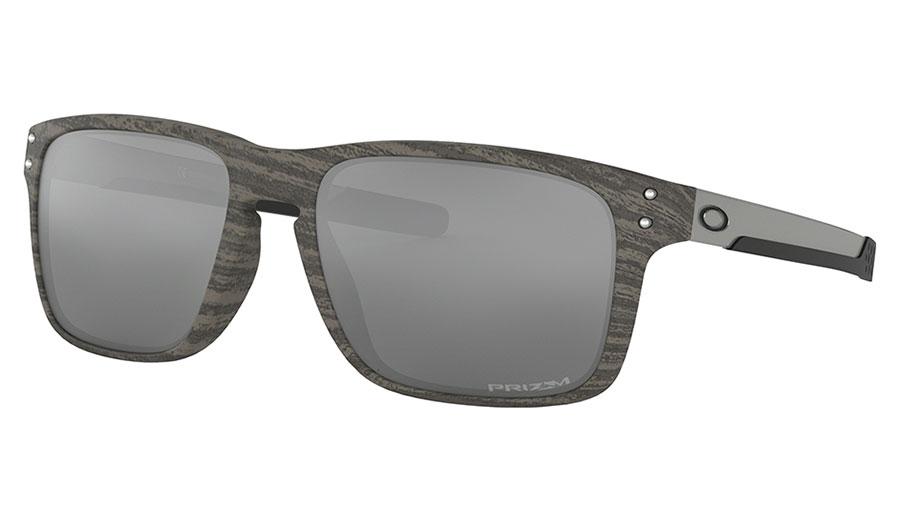 Oakley Holbrook Mix Sunglasses - Woodgrain / Prizm Black
