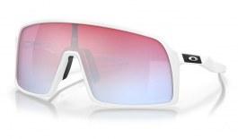 Oakley Sutro Sunglasses - Polished White / Prizm Snow Sapphire
