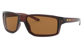 Oakley Gibston Sunglasses - Polished Rootbeer / Prizm Bronze