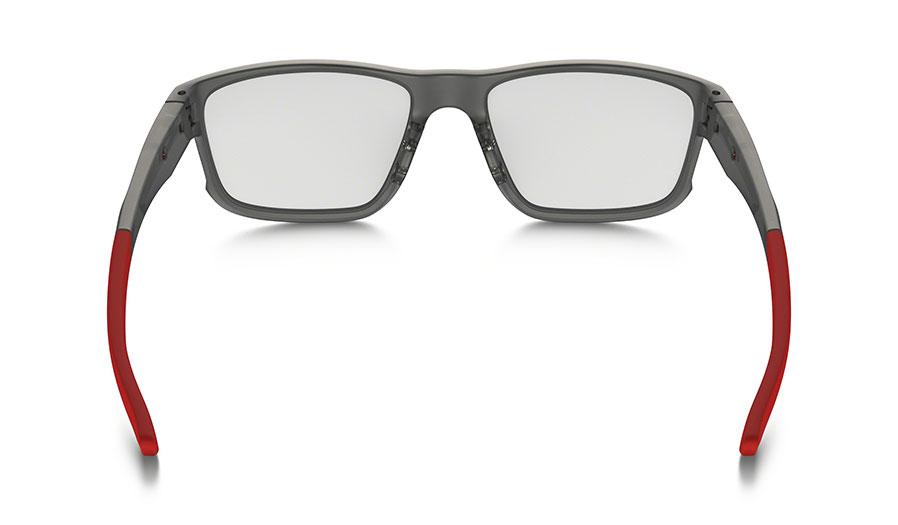 5fd34e8fcb Oakley Hyperlink Prescription Glasses - Satin Grey Smoke - Oakley ...