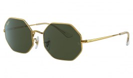 Ray-Ban RB1972 Octagon Sunglasses - Legend Gold / Green