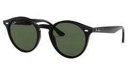 Ray-Ban RB2180 Sunglasses - Black / Green