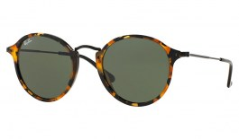 Ray-Ban RB2447 Sunglasses - Tortoise & Black / Green