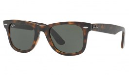 Ray-Ban RB4340 Wayfarer Ease Sunglasses - Tortoise / Green