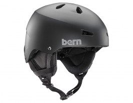 Bern Team Macon Ski Helmet - Matte Black