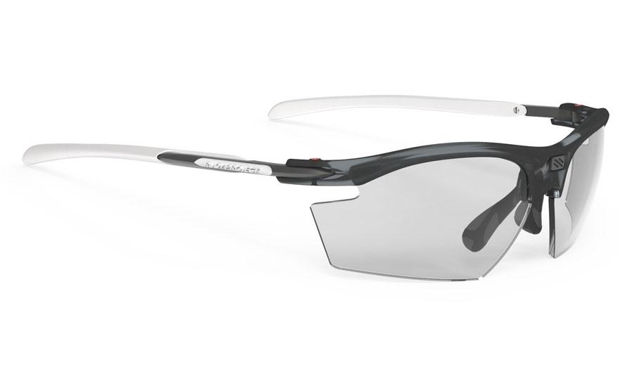 Rudy Project Rydon Sunglasses - Frozen Ash & White / ImpactX 2 Photochromic Laser Black