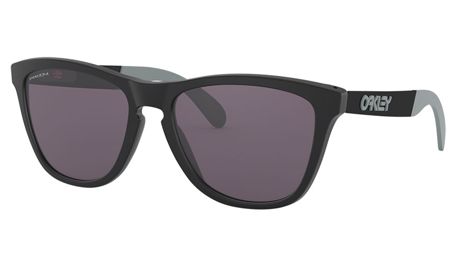 Oakley Frogskins Mix Sunglasses - Matte Black / Prizm Grey
