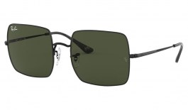 Ray-Ban RB1971 Square Sunglasses - Black / Green