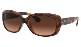 Ray-Ban RB4101 Jackie Ohh Sunglasses - Havana / Pink Brown Gradient