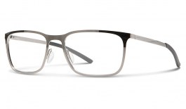 Smith Outsider Metal Glasses - Dark Ruthenium - Essilor Lenses