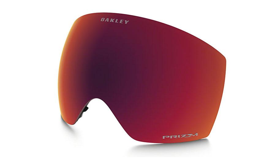 Oakley Flight Deck XM Ski Goggles Replacement Lens Kit - Prizm Torch Iridium